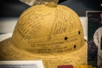 Helmet with records of events